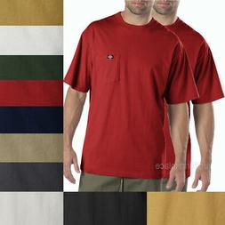 2 pcs Men's Dickies Short Sleeve POCKET T- SHIRT Tee Cotton