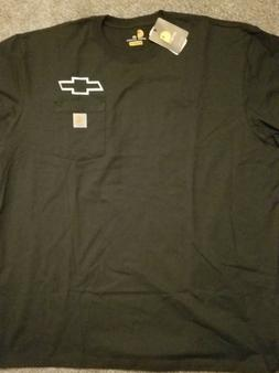 CARHARTT CHEVY BOW TIE TEE SHIRT WITH POCKET