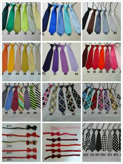 Girls/Boys Fashion Elastic Neck Tie & Bow Tie Toddlers Child