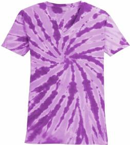 Koloa Surf Co. Ladies Colorful Tie-Dye V-Neck Tees in 10 Col