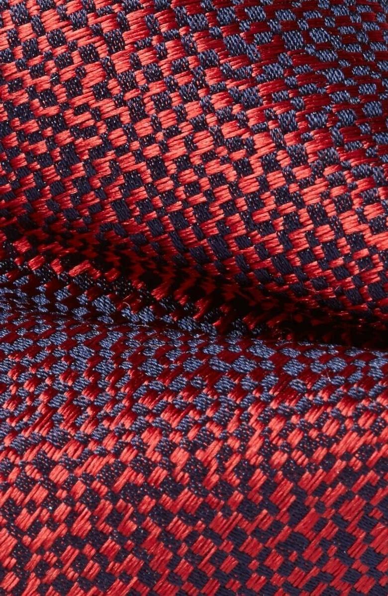 Nordstrom Red 'Pixelate' Bow Size