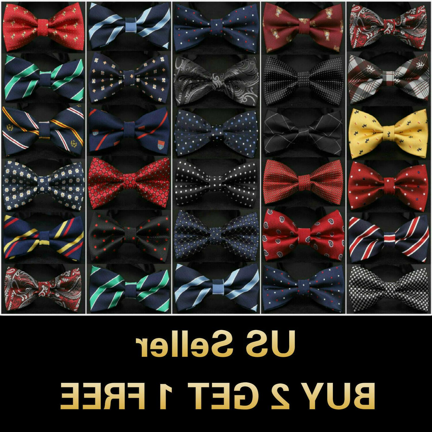 26 styles bow tie classic mens adjustable