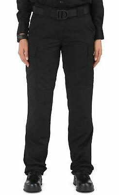 5.11 Tactical Womens Cargo Work Pants Black Size 14 TDU Rips