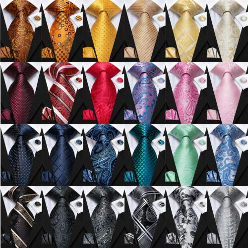 999 colors mens tie silk necktie set