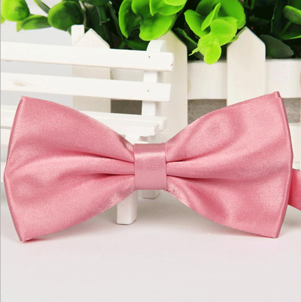 NWT Men/'s HOT PINK Tuxedo Prom Formal Adjustable Bow Tie