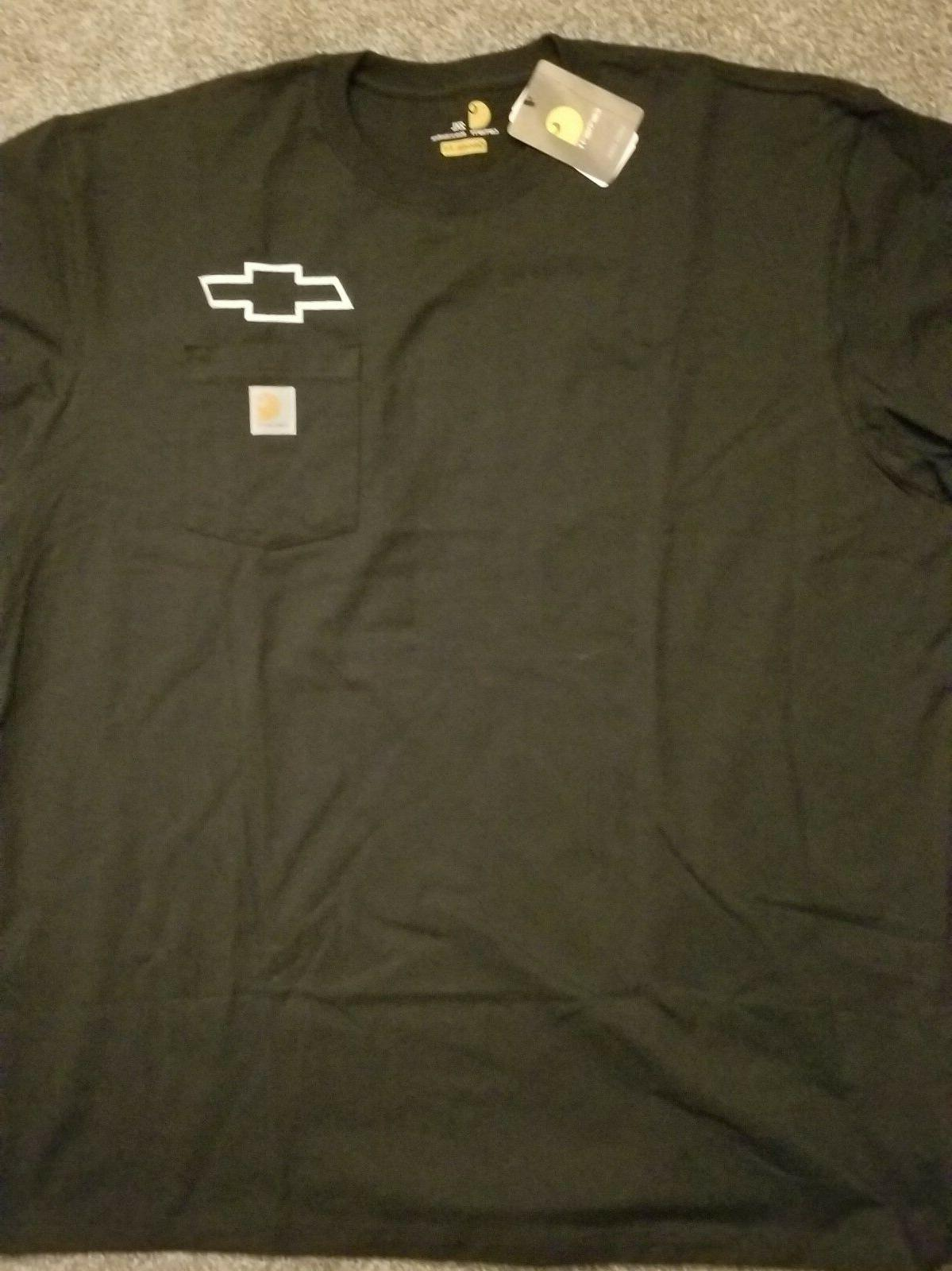 chevy bow tie tee shirt with pocket