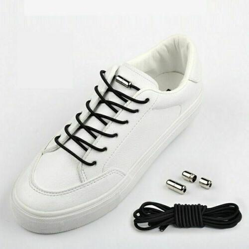 Lazy adult No Tie Lock Shoe Laces Elastic Lieless Strings Fo