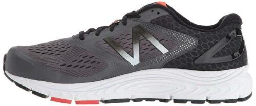 New Balance 840v4 Low Lace, Magnet/Energy Red, Size 11.5