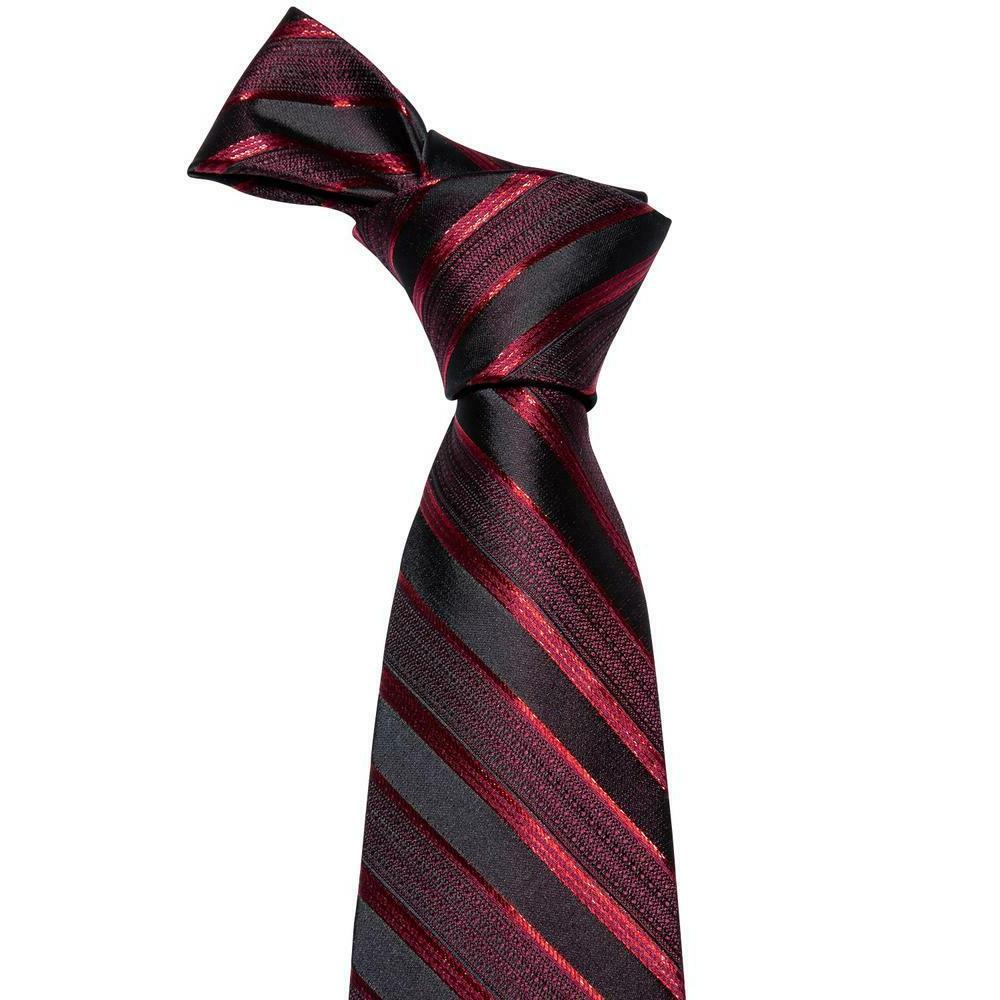 Mens Red Solid Paisley
