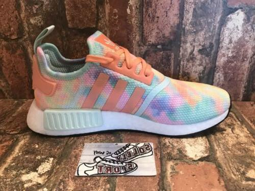New R1 Tie Running Boost Yeezy Coral