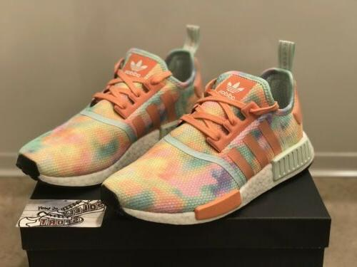 New NMD R1 Boost Yeezy Womens Coral