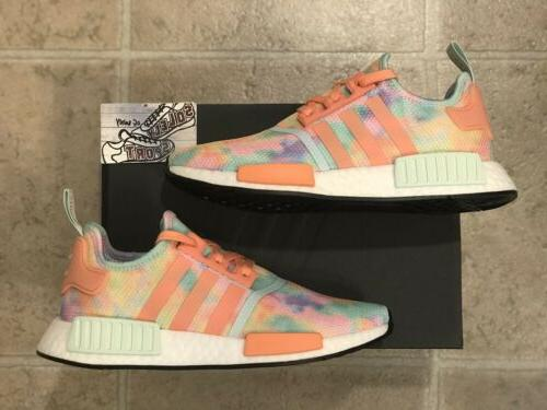 new nmd r1 tie dye running shoes