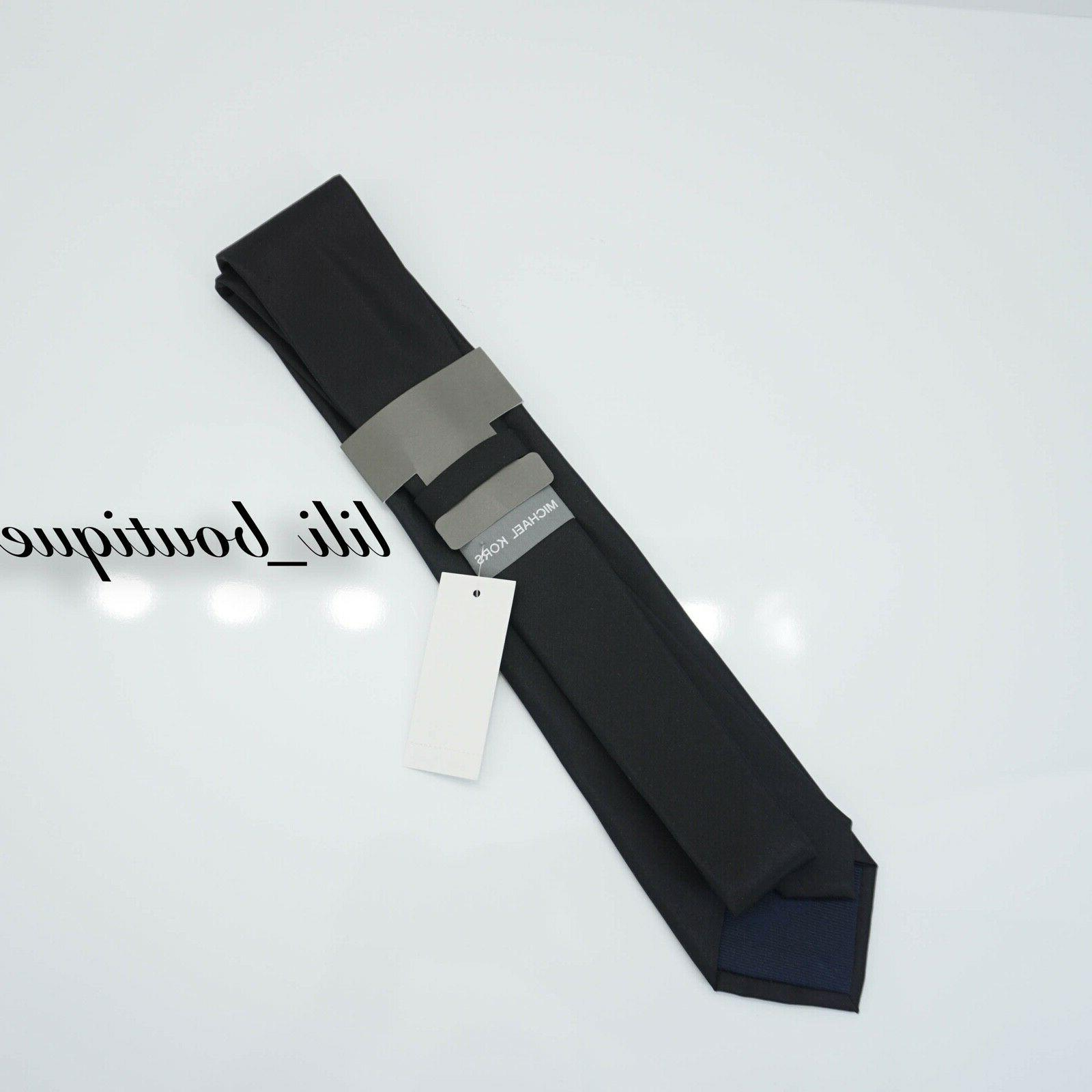 NWT Michael One Size Tie Black $69.50