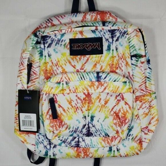 superbreak backpack tie dye new with tags