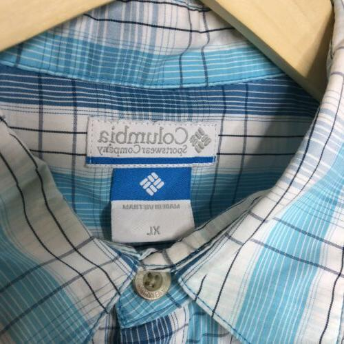 Columbia Top Size Button Up Top My Tie