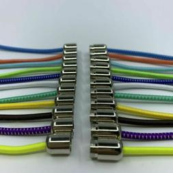 Lazy No Tie Elastic tieless Lock Shoe Laces Strings For Snea