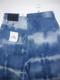 LEVI'S MADE & CRAFTED WOMEN CULOTTES JAPANESE DENIM BLUE TIE