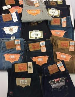 Levis 501 Original Button Fly Many Styles/Sizes *See Item De