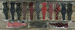 Lot of 14 New In Package Self Tie Adjustable Bow Ties