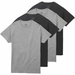 FRUIT OF THE LOOM MEN'S 4 PACK COLOR CREW T-SHIRTS Sizes S-4