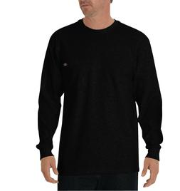 Dickies Men's Long Sleeve Heavyweight Crew Neck Tee Shirt w/