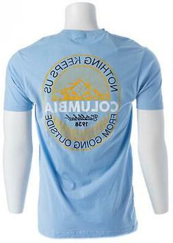 """COLUMBIA Men's """"Nothing Keeps Us From Going Outside"""" Tee"""