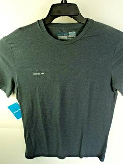 Columbia Men's T-Shirt Charcoal with Columbia Graphic Size L