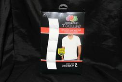 Fruit of the Loom Men's V-Neck Tee   XL  Tag Free No Ride-up
