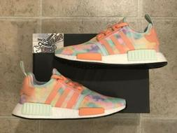 New Adidas NMD R1 Tie Dye Running Shoes Boost Yeezy Womens F