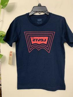 New With Tag Boys Levi's Graphic Tee Size M