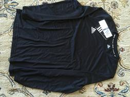 NWT Boys adidas ClimaLite Long Sleeve Athletic Tee Youth T-S