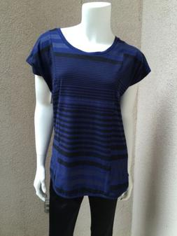 NWT Levi's Woman Tee Shirt SZ Small Navy Blue Cotton