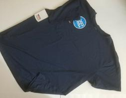 NWT Men's Dickies Short Sleeve T Shirt Navy Blue Pocket Tee