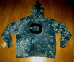 NWT *RARE*  CHAMPION REVERSE WEAVE BLUE TIE DYE  PULLOVER HO