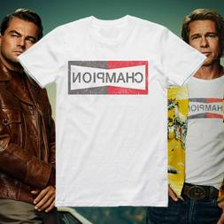 Once upon a time in Hollywood Brad Pitt Champion T-Shirt Gil