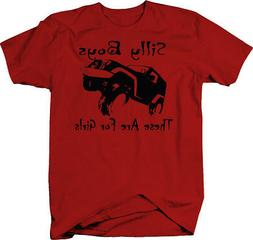 Silly Boys These Are For Girls 4x4 Off Road Color T Shirt fo