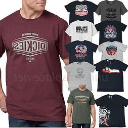 Dickies T Shirt Mens Short Sleeve graphic Tee shirt, Gas Mon
