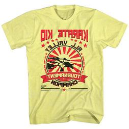 The Karate Kid T-Shirt All Valley Tournament Champion Yellow