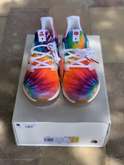 Adidas Ultra Boost Nice Kicks Woodstock White Tie Dye Mens S