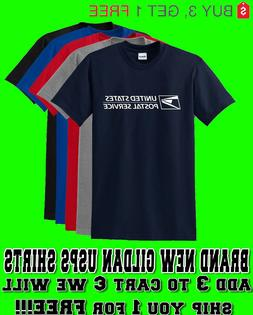 Unisex USPS Postal Post Office Short Sleeve Tee T-shirt All